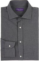 Ralph Lauren Purple Label Men's Bond Cotton Shirt-DARK GREY, GREY
