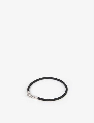 Miansai Knox medium leather bracelet