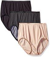 Vanity Fair Women's 3 Pack Illumination Brief Panty 13309