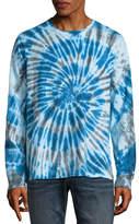 Arizona Long Sleeve Crew Neck Tie Dye T-Shirt