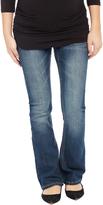 Motherhood Secret Fit Belly Stitched Pocket Boot Cut Maternity Jeans