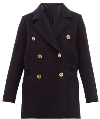 BLAZÉ MILANO Pegaso Sealady Double-breasted Wool-blend Blazer - Womens - Navy