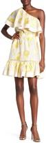 Rebecca Taylor Ella One-Shoulder Eyelet Dress