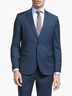 Paul Smith Wool Mohair Tailored Fit Suit Jacket, Bright Navy