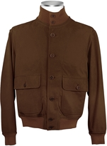 Schiatti & Co. Men's Dark Brown Italian Suede Two-Pocket Jacket