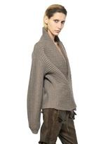 Haider Ackermann Ribbed Knit Wool Sweater