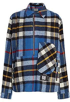 we11done Women's English Check Anorak