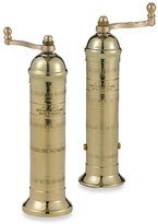 Atlas Greek Brass Pepper Mill and Salt Mill