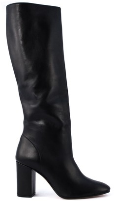 Aldo Castagna Black Leather Acqua Boots