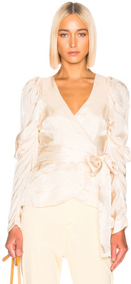 Alice McCall Blue Moon Blouse in Oyster   FWRD