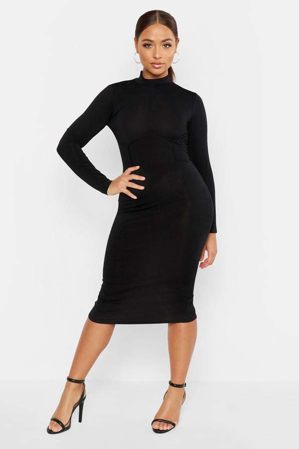 6ec2502fd966 boohoo High Neck Dresses - ShopStyle Canada