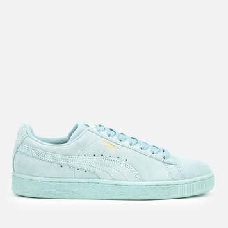 Puma Suede Classic Trainers - Light Sky Team Gold