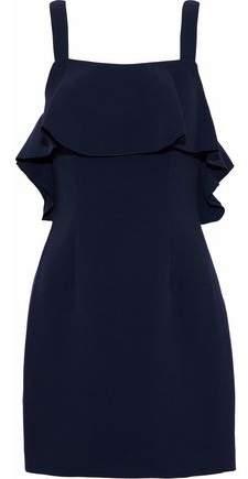 Rachel Zoe Ruffled Crepe Mini Dress