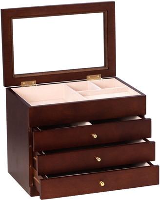 Bey-Berk Harriet Jewelry Box