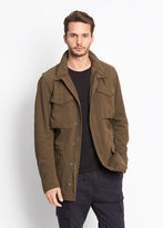 Vince Shearling Lined Army Coat