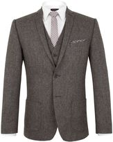 Limehaus Jackson Donegal Slim Fit Suit Jacket