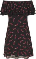 Sam Edelman Off-The-Shoulder Ruffle Dress
