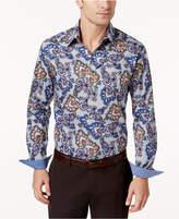 Tasso Elba Men's Priori Paisley Shirt, Created for Macy's