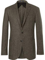 Polo Ralph Lauren Polo Yale Slim-fit Basketweave Wool Blazer - Brown