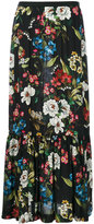 I'M Isola Marras long floral print skirt