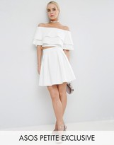 Asos Scuba Box Pleat Mini