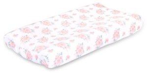 The Peanut Shell The Farmhouse Floral Changing Pad Cover Bedding