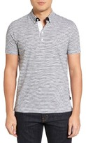 BOSS Men's Platt Flame Stripe Polo
