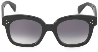 Celine 54MM Square Plastic Sunglasses