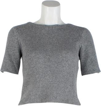 The Elder Statesman Grey Cashmere Jumpsuits