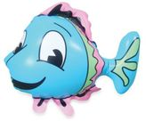 Kel Gar Inflatable Smiley Fish Faucet Cover & Bubble Bath Dispenser