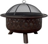 Oil Rubbed Bronze Outdoor Firebowl