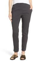 Eileen Fisher Women's Organic Linen Blend Slim Ankle Pants