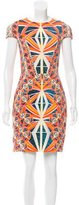 Peter Pilotto Geometric Print Sheath Dress