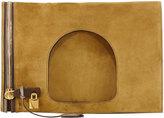 Tom Ford Alix Suede Padlock & Zip Shoulder Bag