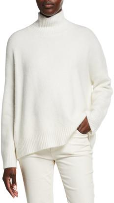 Eileen Fisher Plus Size Cashmere-Blend Turtleneck Sweater