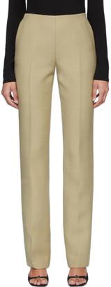 The Row Beige Laden Pants