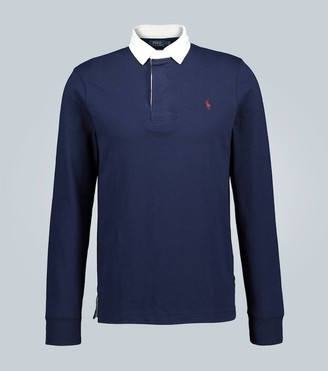 Polo Ralph Lauren Cotton-jersey rugby shirt