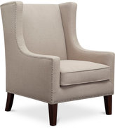 Sloane Fabric Accent Chair, Quick Ship