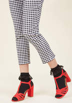 ModCloth Just You and Eyelet Socks in Black - Size OS
