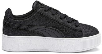 Puma Kids Wedge Glitz Vikky PS Platform Trainers