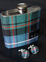 Modiste Accessories Rachel Personalised Hipflask And Cufflink Set