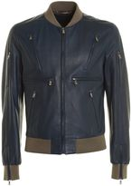 Dolce & Gabbana Dolce Gabbana Leather Bomber Zip