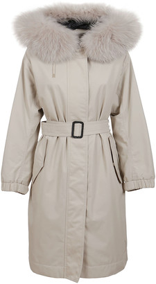 Max Mara Beige Cotton Coat