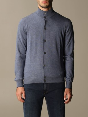 Gran Sasso Cardigan In Virgin Wool With Buttons