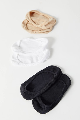 Basic No-Show Sock 3-Pack