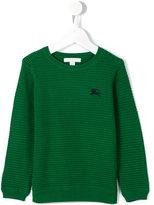 Burberry round neck sweatshirt - kids - Cotton - 8 yrs