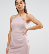 Missguided Petite Exclusive Scallop Bodycon Dress