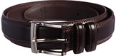 Florsheim Big and Tall Pebble Grain Leather Belt