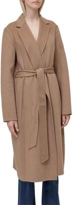 Lauren Ralph Lauren Tie-Waist Coat