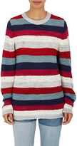 The Elder Statesman Women's Picasso Striped Cashmere Sweater